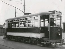 Single decker Brush Tram (1930s)